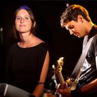 Loyse (clavier) et Damien (guitare)