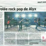 Est Républicain Edition Haut-Doubs – Sortie de l'album Vole