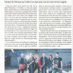Sortie du single «Dis-le-moi» – Article dans le journal La Région Nord Vaudois