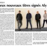 Deux nouveaux titres signés Alyx dans l'Echo du Gros-de-Vaud